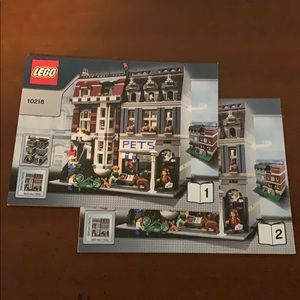 Lego Instructions Manuals for set 10218 books 1-2